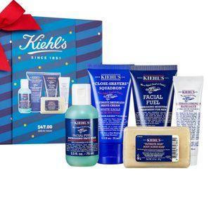 KIEHLS  Men's Grab & Go Essentials Set 5 Piece NIB